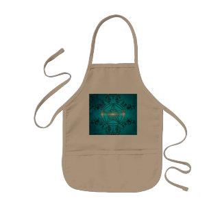 Magical pentagram kids' apron