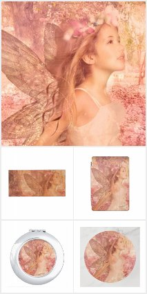 Magical Pink Fairy of Spring Collection