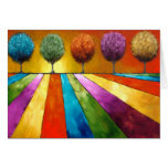 Magical Place Landscape Art Greeting Cards
