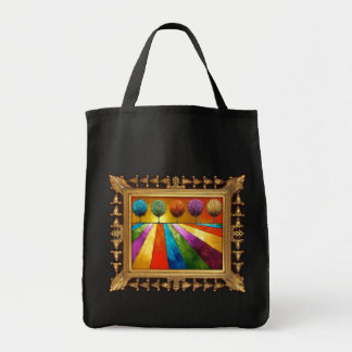 Magical Place Landscape Art Tote Bag