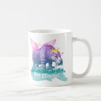 Magical Plant Eating Vegan Hippo Coffee Mug