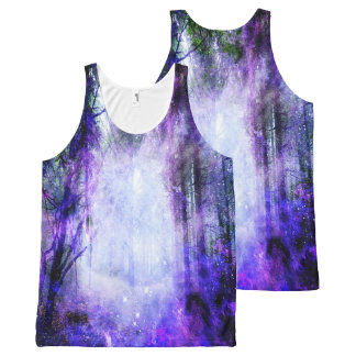 Magical Portal in the Forest All-Over-Print Tank Top
