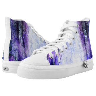 Magical Portal in the Forest High-Top Sneakers