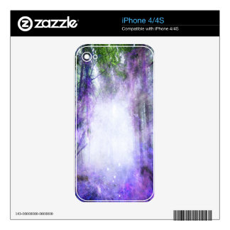 Magical Portal in the Forest Skins For iPhone 4