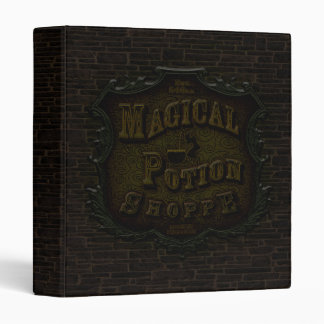 Magical Potion Shoppe 3 Ring Binder