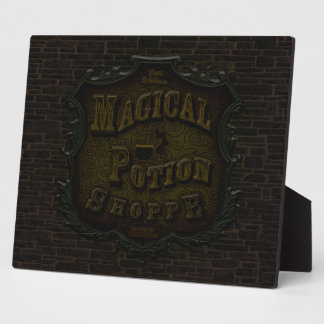 Magical Potion Shoppe Plaque