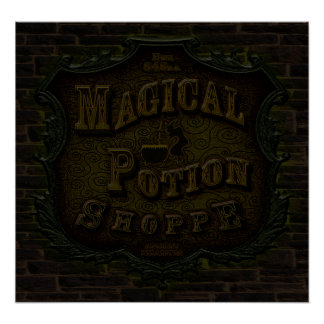 Magical Potion Shoppe Poster