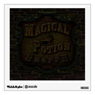 Magical Potion Shoppe Wall Decal