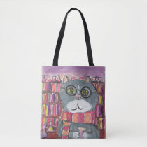 Magical Potions Cat Tote Bag