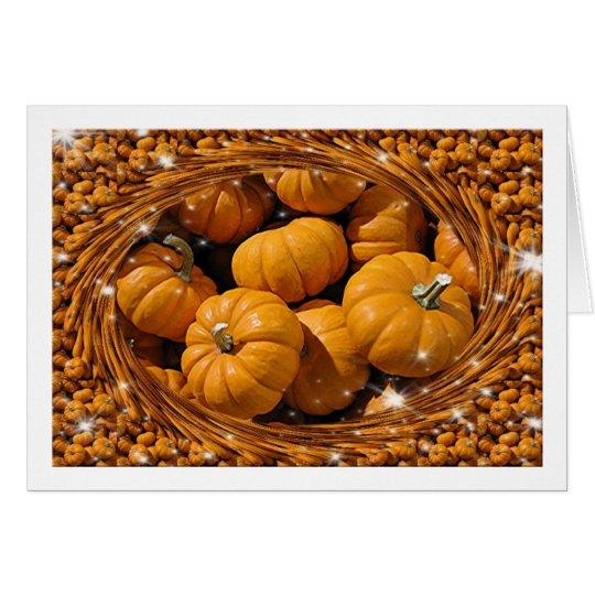 Magical Pumpkins Card