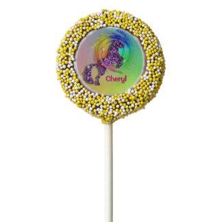 Magical Rainbow Unicorn Themed Party Chocolate Dipped Oreo Pop