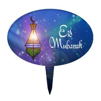 Magical Ramadan Lantern - Eid Cake Topper oval