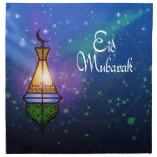 Magical Ramadan Lantern - Eid Greeting Napkins