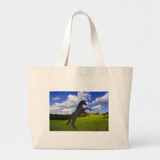 Magical Rearing Unicorn Canvas Bags