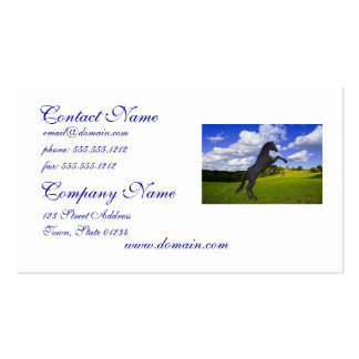 Magical Rearing Unicorn Business Cards