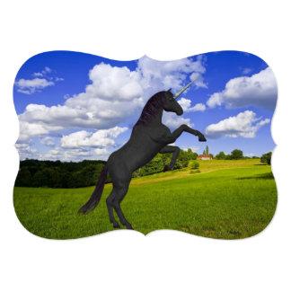 Magical Rearing Unicorn Personalized Invite