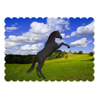 Magical Rearing Unicorn Cards