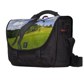 Magical Rearing Unicorn Laptop Computer Bag