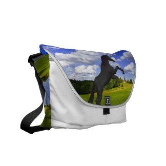 Magical Rearing Unicorn Messenger Bag