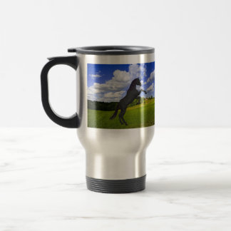 Magical Rearing Unicorn 15 Oz Stainless Steel Travel Mug