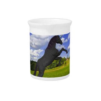 Magical Rearing Unicorn Beverage Pitchers