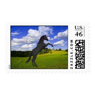 Magical Rearing Unicorn Stamps