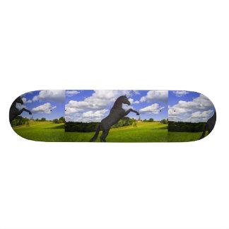 Magical Rearing Unicorn Skate Deck