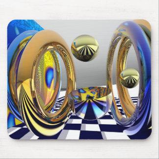 Magical rings mousepad