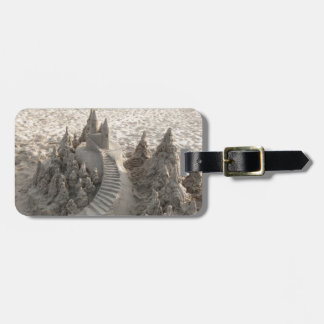 Magical Sand Castle Tag For Luggage