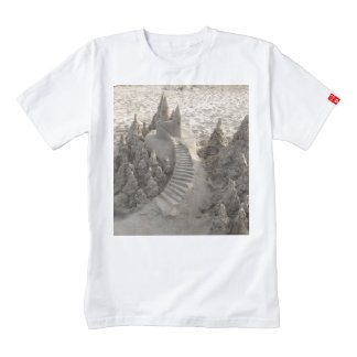 Magical Sand Castle Zazzle HEART T-Shirt