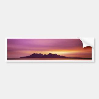 Magical Scottish Island Bumper Sticker