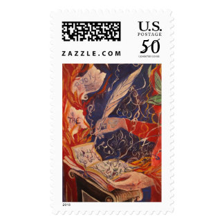 Magical Scribe Postage