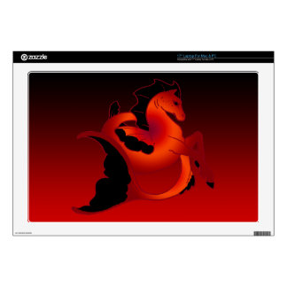 "Magical Sea Horse Collection 17"" Laptop Skin"