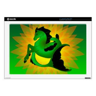 "Magical Sea Horse Collection #2 17"" Laptop Decal"