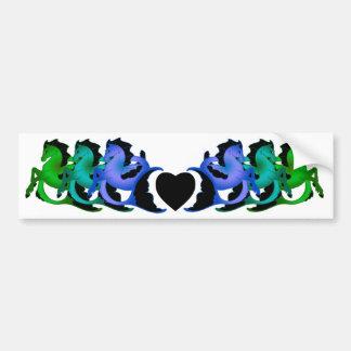 Magical Sea Horse Collection #2 Bumper Sticker