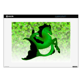 """Magical Sea Horse Collection #2 Decal For 15"""" Laptop"""