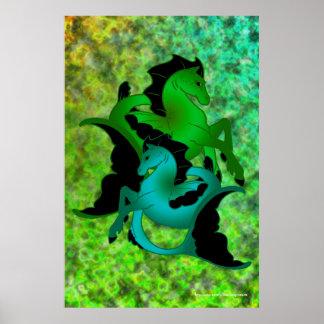 Magical Sea Horse Collection #2 Poster