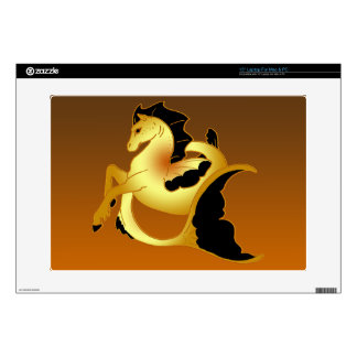 """Magical Sea Horse Collection Decal For 15"""" Laptop"""
