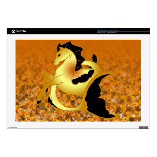 """Magical Sea Horse Collection Decals For 17"""" Laptops"""