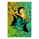 Magical Sea Horse Collection, Mixed Posters