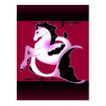 Magical Sea Horse Collection Post Card