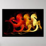 Magical Sea Horse Collection Print