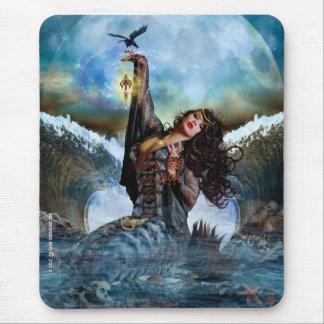 Magical Sea Witch Mermaid Mousepad