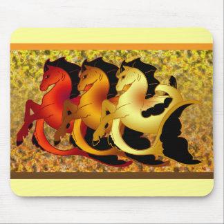Magical Seahorses Mouse Pad