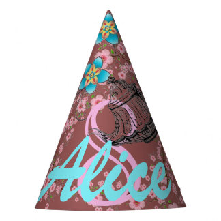 Magical Shabby Chic Tea Party Paper Hats