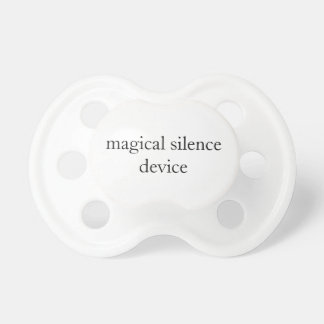 magical silence device pacifier