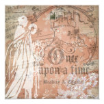 Magical Snowflake Once Upon a Time Invitation