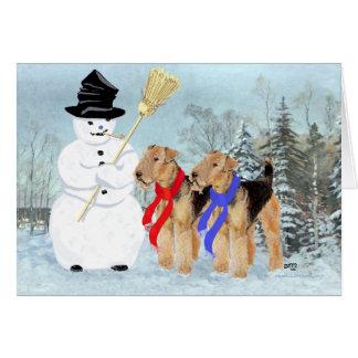 Magical Snowman Card