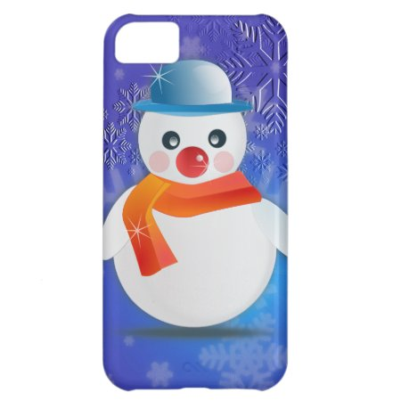 Magical Snowman Cover For iPhone 5C