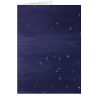 Magical Starry Night Card